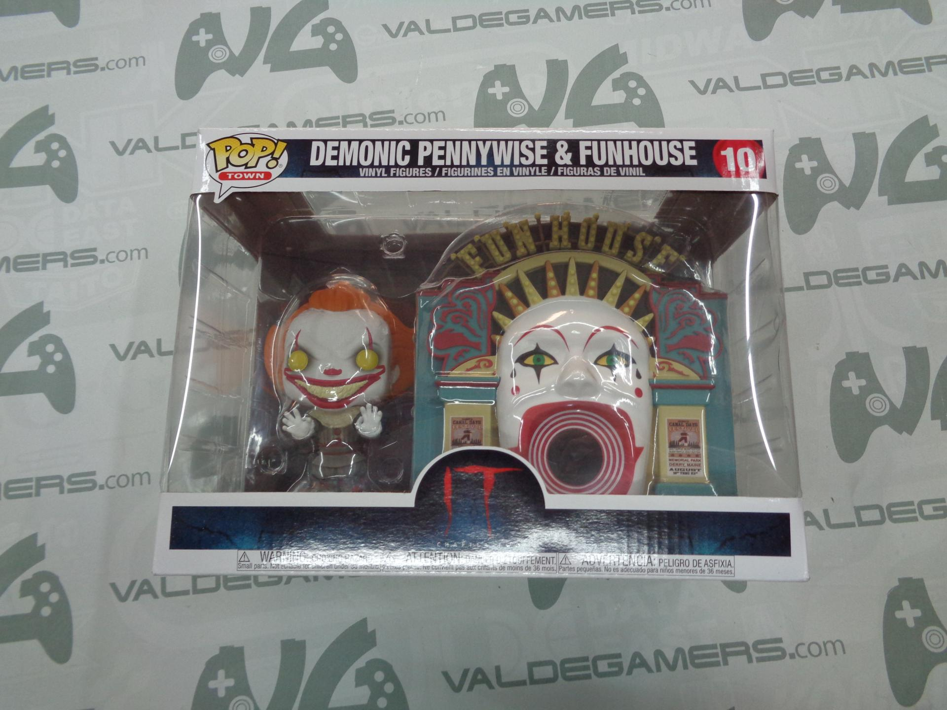 Funko Pop - Demonic Pennywise With Funhouse - 10