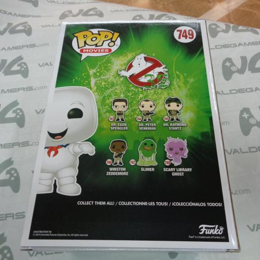 Funko Pop - Stay Puft  - 749 special edition [1]