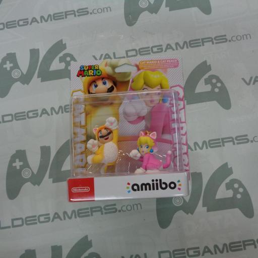 Pack Mario Felinio y Peach Felina