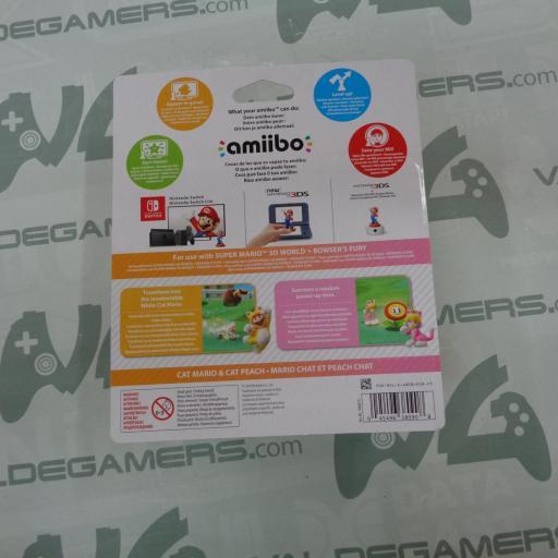 Pack Mario Felinio y Peach Felina [1]