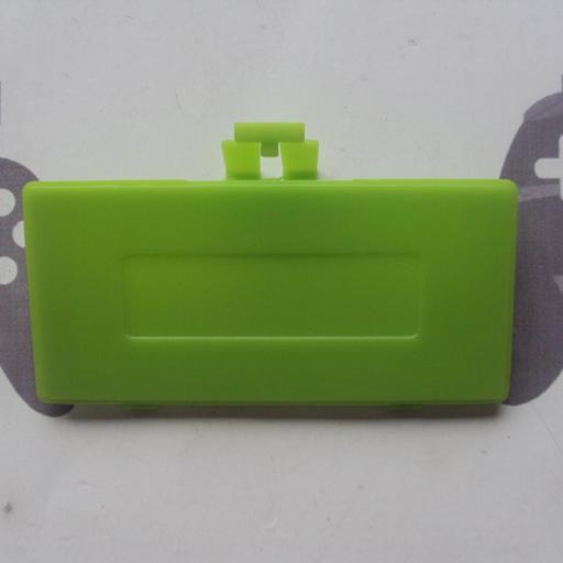 Tapa de pilas game boy pocket verde