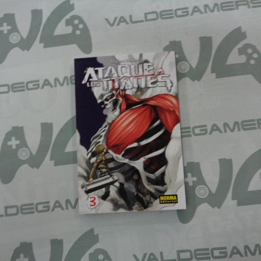 Ataque a los Titanes 1 / 2 / 3 / 4 - Manga [2]