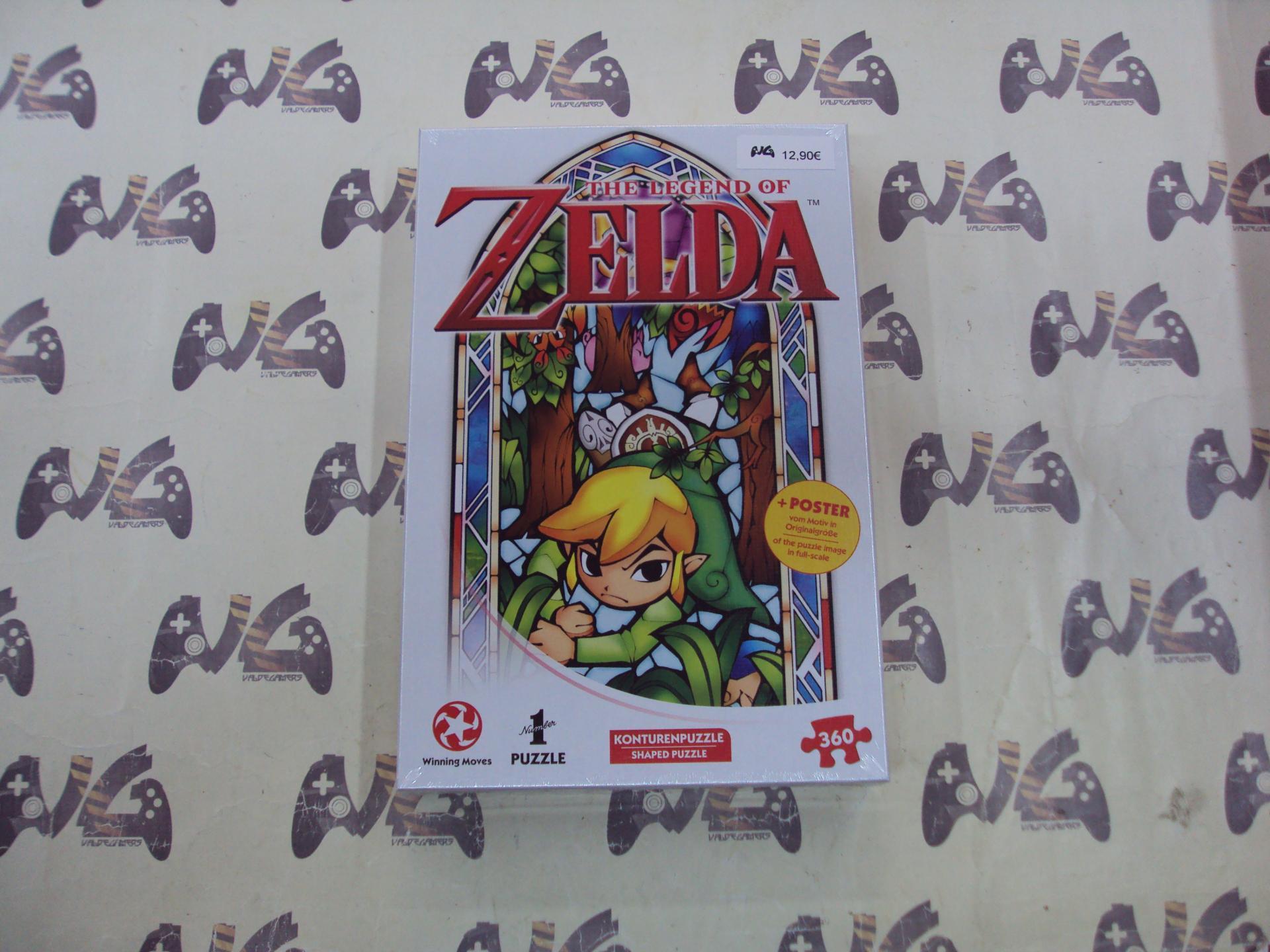 Puzzle The Legend of Zelda boomerang + poster