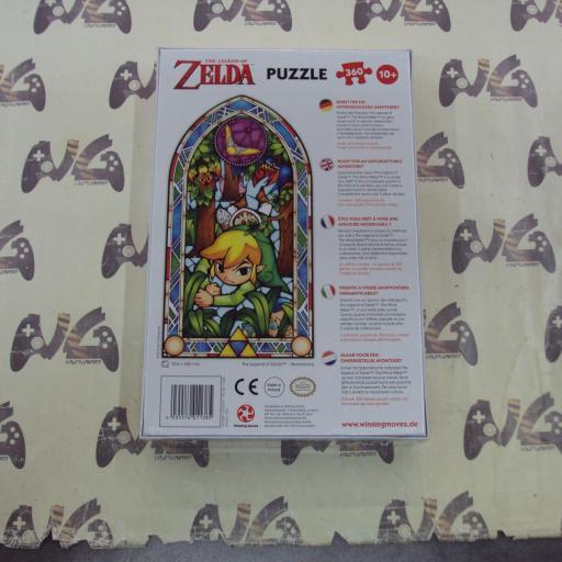Puzzle The Legend of Zelda boomerang + poster [1]