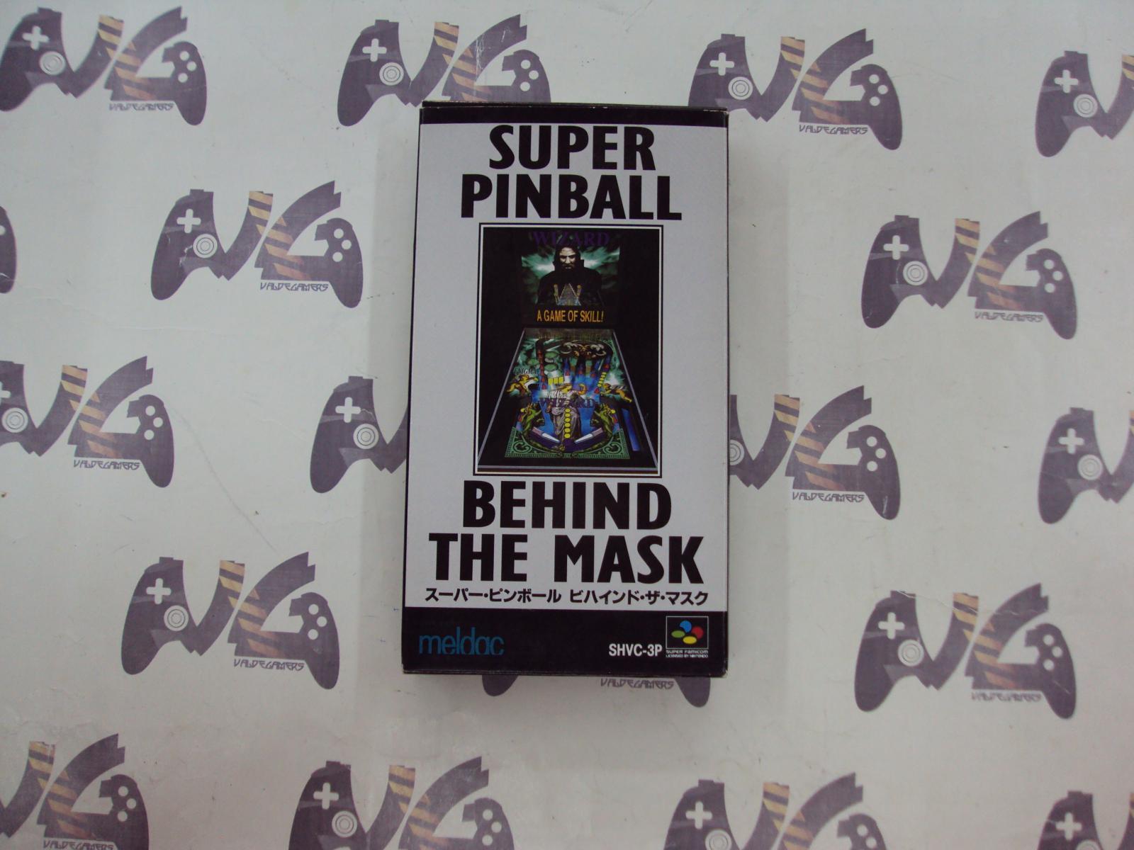 Super Pinball Behind The Mask - JAPAN