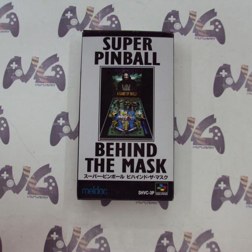 Super Pinball Behind The Mask - JAPAN [0]