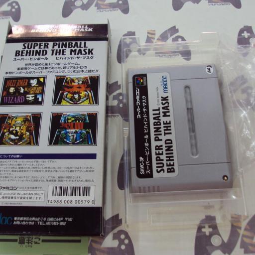 Super Pinball Behind The Mask - JAPAN [2]