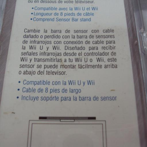 Barra sensor wii / wiiu - NUEVA [2]