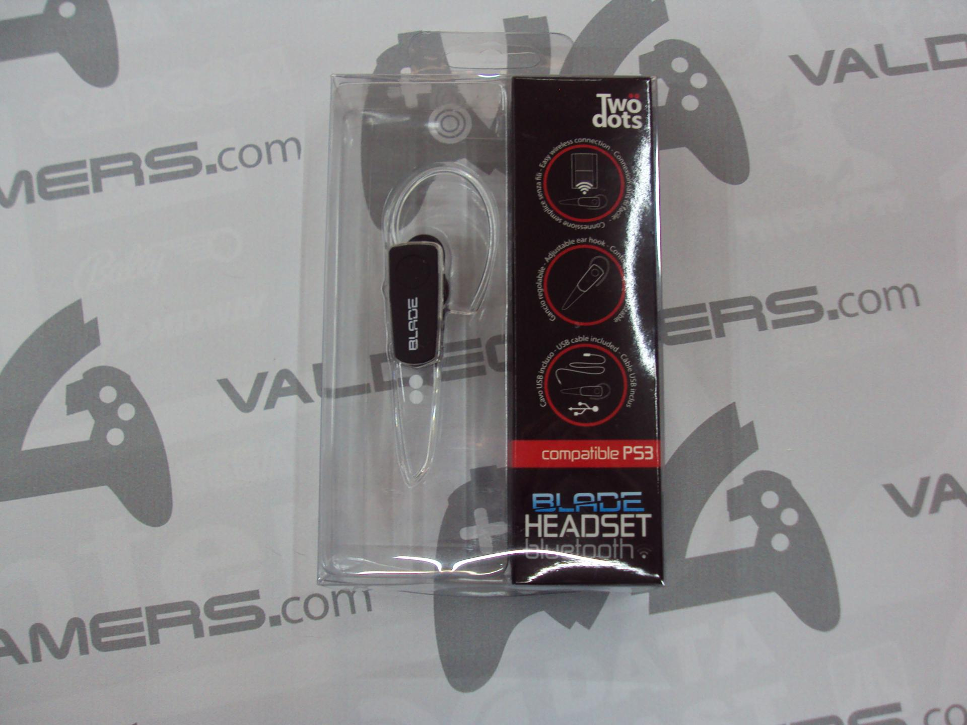 Auricular ps3 Two Dots - Headset Blade Bluetooth - nuevo