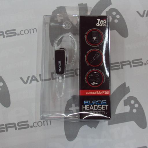 Auricular ps3 Two Dots - Headset Blade Bluetooth - nuevo [0]