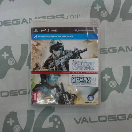 Ghost Recon Future Soldier + Ghost Recon Advanced Warfighter 2