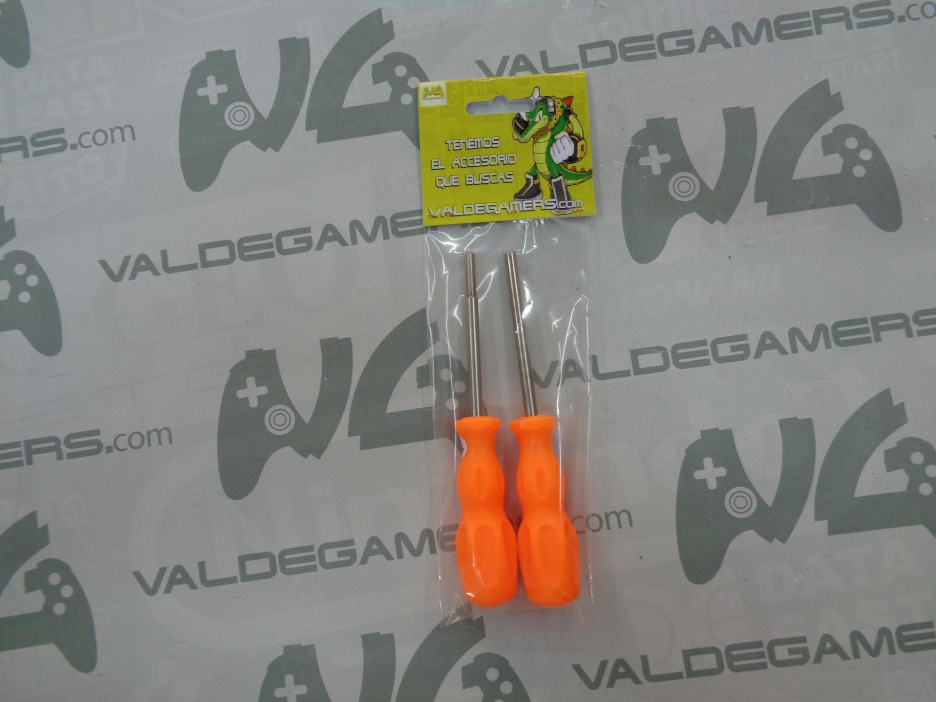 Set destornilladores Gamebit 3,8mm y 4,5mm - NUEVO