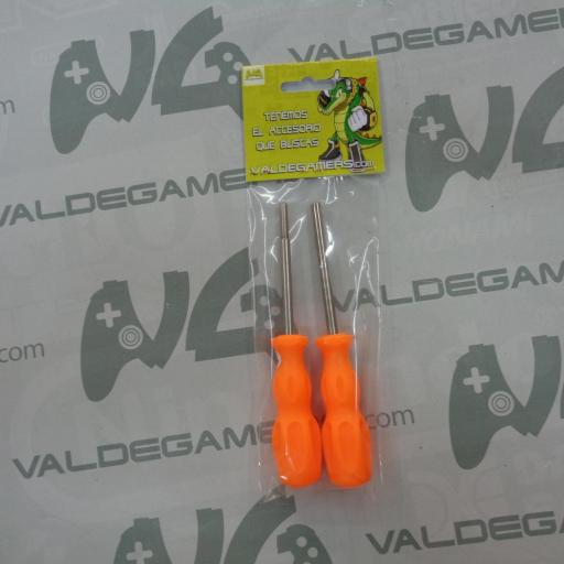 Set destornilladores Gamebit 3,8mm y 4,5mm - NUEVO