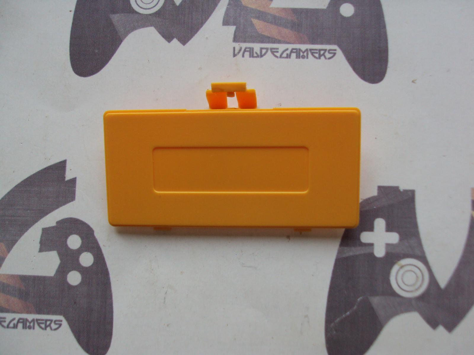 Tapa de pilas game boy pocket amarillo