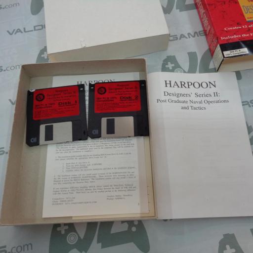 "Harpoon Designer's Series II PC 3.5"" IBM [2]"