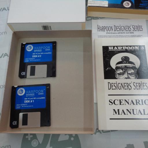 "Harpoon Designer's Series  PC 3.5"" IBM [2]"