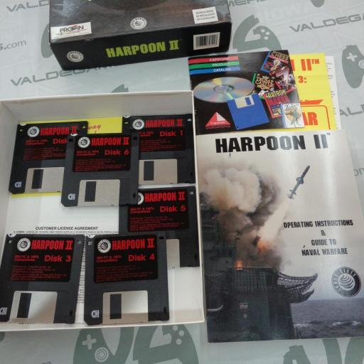 "Harpoon II  PC 3.5"" IBM [2]"
