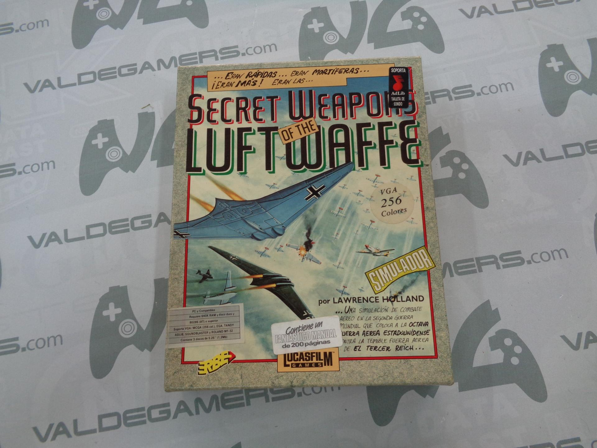 """Secret weapons of the luftwaffe  PC 5,25"""""""