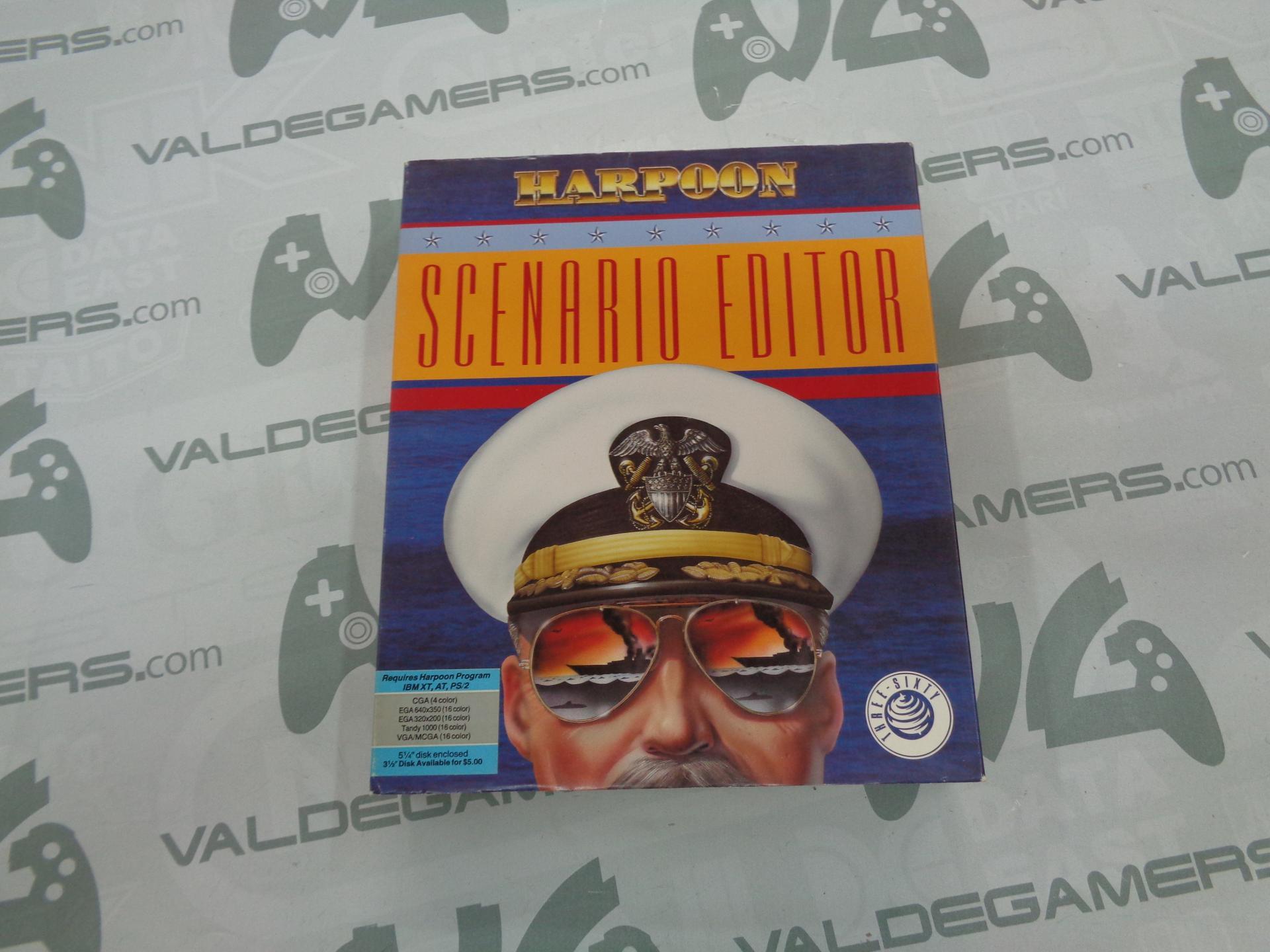 """Harpoon Scenario editor  PC 5,25"""""""