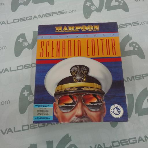 Harpoon Scenario editor  PC 5,25""