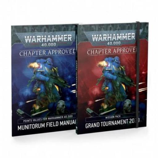 Warhammer 40000: Aprobado Por el Capítulo  Gran Torneo 2020 (Castellano) - NUEVO [1]