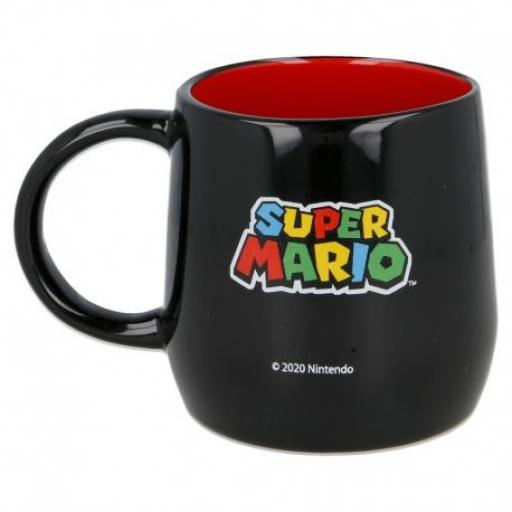 Taza Super Mario Negra 360 ML [2]
