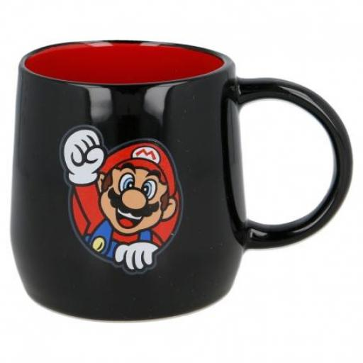 Taza Super Mario Negra 360 ML [1]