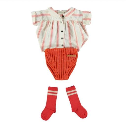 Piupiuchick, shorts rojos