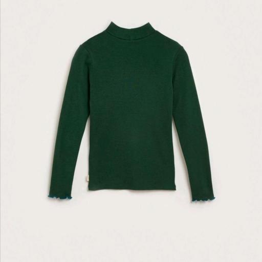 Bellerose VINE T1437  T-SHIRT Camiseta cuello verde