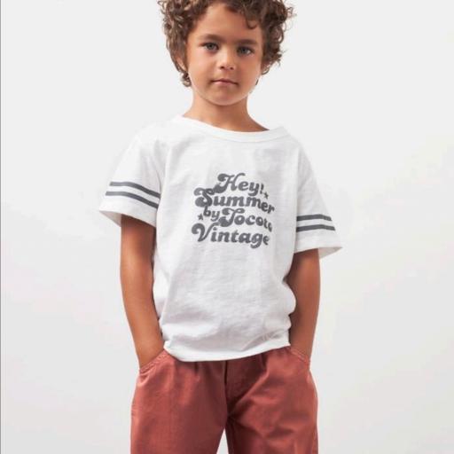 Tocoto Vintage, Camiseta unisex Summer blanca