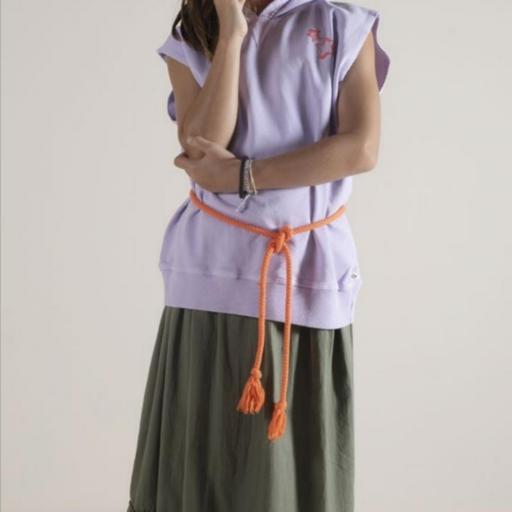 Sunchild,Long Skirt MANDALA KAKI