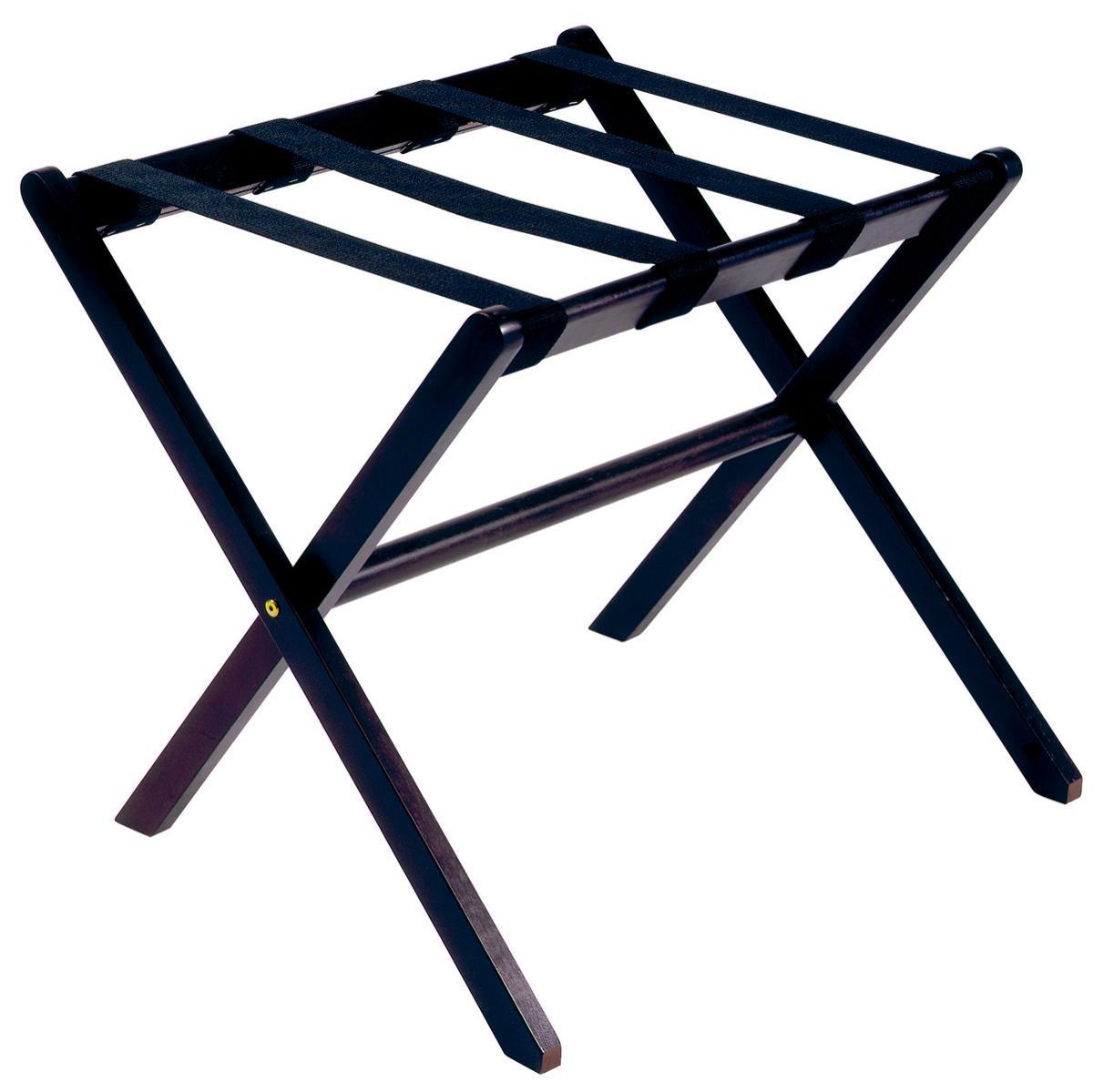 Soporte de madera plegable para las maletas JVD