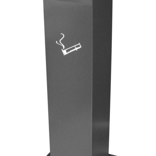 Cenicero de exterior modelo Totem JVD