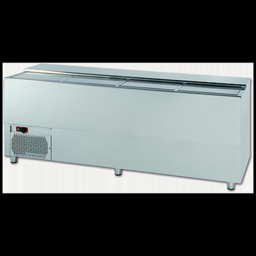 Botellero frigorífico vertical para barra en acero inoxidable Worldmai [2]