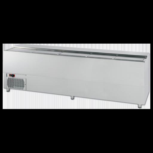 Botellero frigorífico vertical para barra en acero inoxidable Worldmai [3]