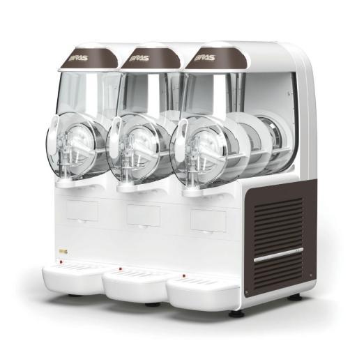 Granizadora con 3 depósitos de 10L cada uno B-Frozen 3 Smart Bras