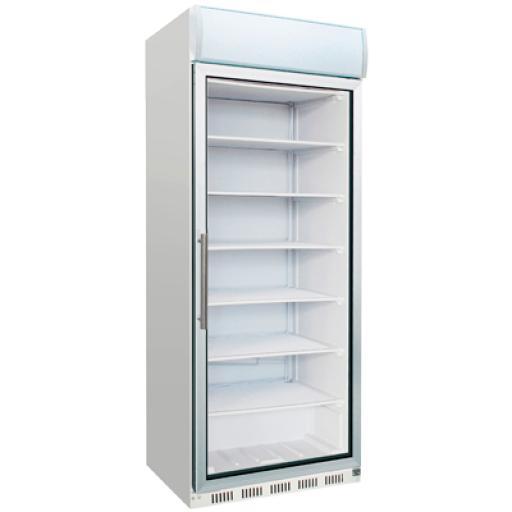 Armario congelador con puerta de cristal 600L. Worldmai C60C-WM