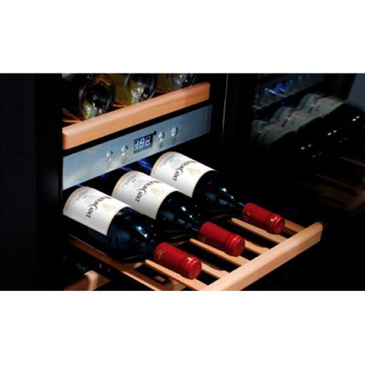 Cava de vinos 66 botellas 2 zonas Worldmai CV66-WM [1]