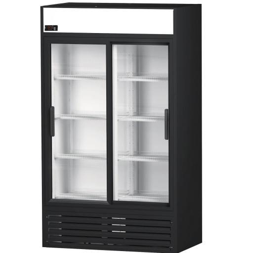 expositor refrigerado 2 puertas cristal Córdoba