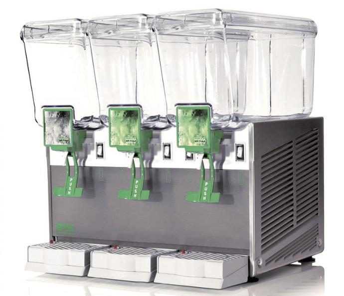 dispensador de bebidas frías triple bras maestrale extra