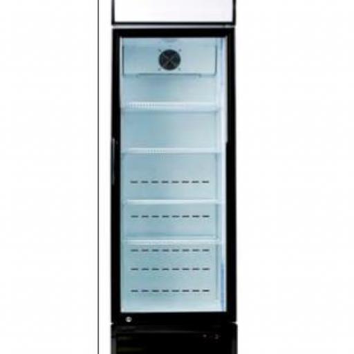 Armario expositor refrigerado con puerta de vidrio CAB440DDC LED