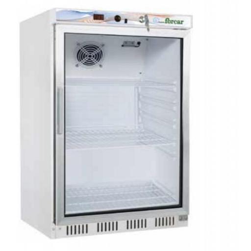 frigorifico nevera puerta cristal