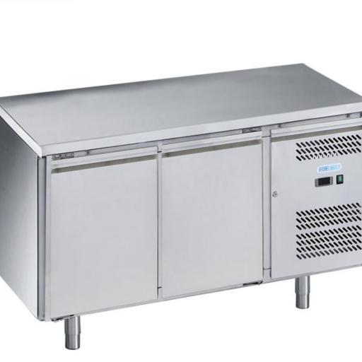 mesa refrigerada snack