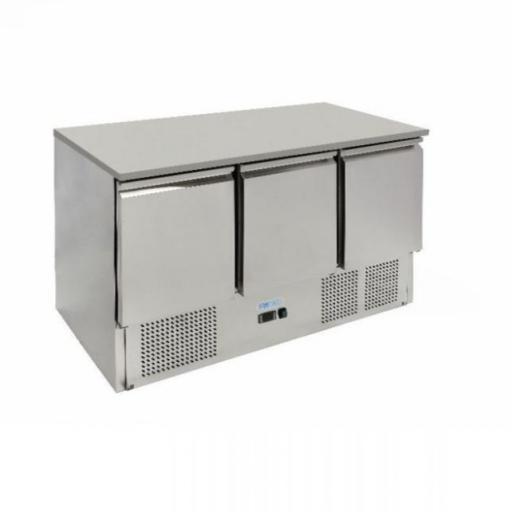 mostrador refrigerado 3 puertas