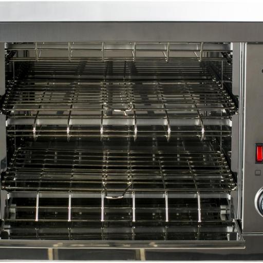 Tostador de pan de 2 pisos con temporizador TF300T D+