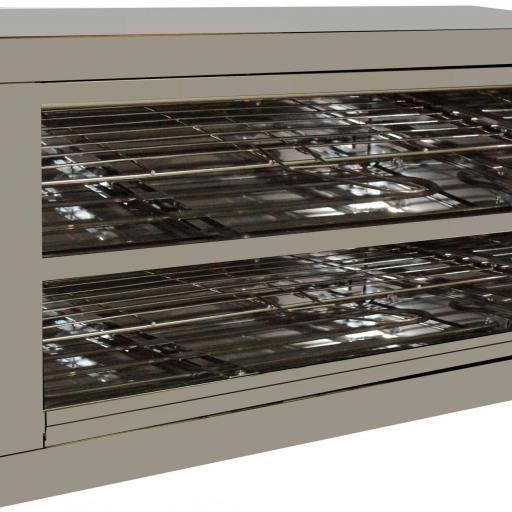 Tostador de pan de 2 pisos con temporizador Super Power Blind 500T D+