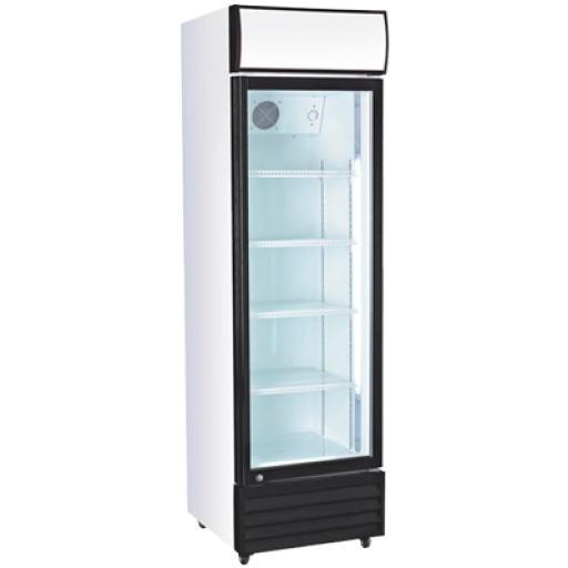 Armario expositor refrigerado una puerta de cristal Worldmai E36C-WM