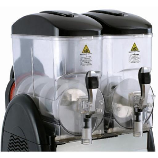Granizadora doble de 12 + 12 litros Worldmai [1]