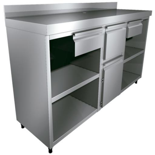 Mueble cafetero abierto Worldmai  [2]