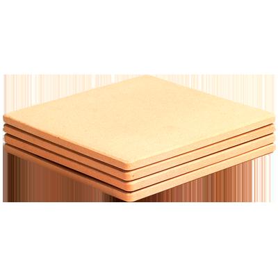 Juego de 2 piedras refractarias para hornos pizza de 330x330x14mm